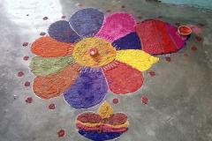 Rangoli & Class Decoration Competition
