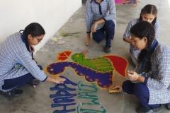 Rangoli Competition15