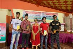 School toppers honoured by Bharat  Vikas Parishad